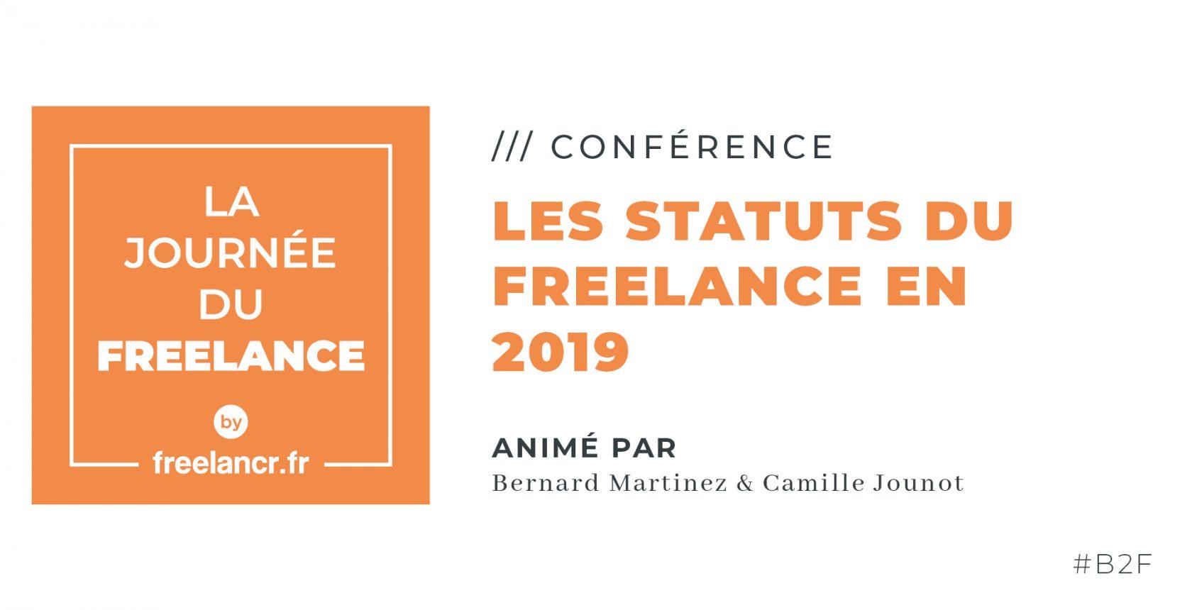 Les statuts du Freelance en 2019